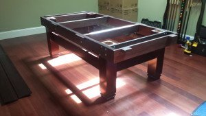 Correctly performing pool table installations, Eau Claire Wisconsin
